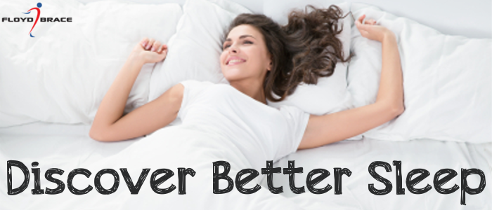 Sleeping with a prosthetic device can be difficult. We have some tips to help you adjust!